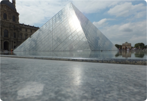 Pyramid at the Lourve