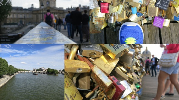 Pont des Arts, collage